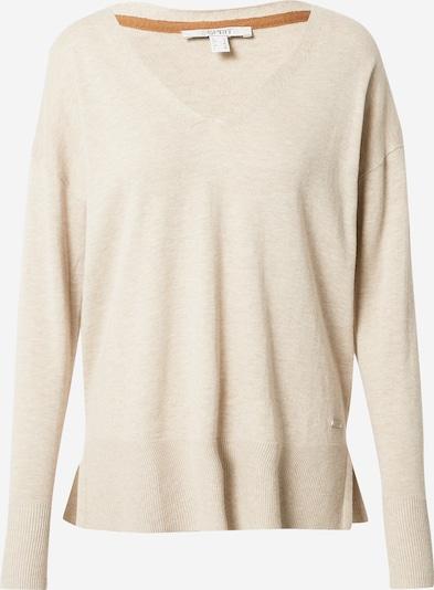 ESPRIT Jersey en beige moteado, Vista del producto