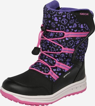 Boots da neve 'J ROBY' GEOX di colore rosa / nero, Visualizzazione prodotti