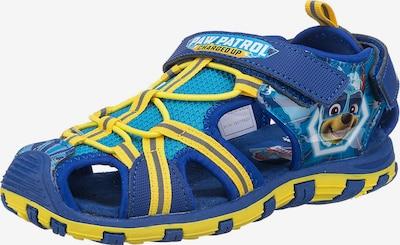 PAW Patrol Sandale in kobaltblau / cyanblau / gelb, Produktansicht