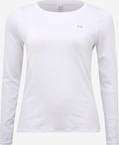 UNDER ARMOUR Sportshirt in grau / weiß, Produktansicht