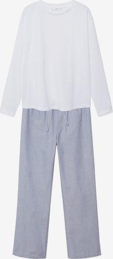 MANGO Pajama in Blue / White, Item view
