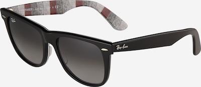burgundi vörös / fekete Ray-Ban Napszemüveg 'Wayfarer', Termék nézet