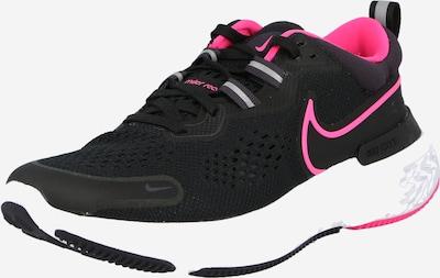 NIKE Παπούτσι για τρέξιμο 'REACT MILER 2' σε γκρι / ροζ / μαύρο, Άποψη προϊόντος