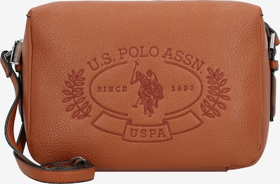 U.S. Polo Assn. Umhängetasche in braun, Produktansicht