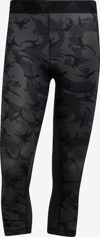 ADIDAS PERFORMANCE Workout Pants in Grey