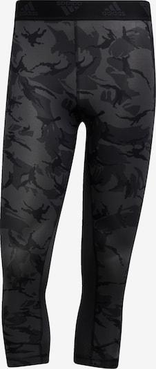 ADIDAS PERFORMANCE Sportbroek in de kleur Grijs / Zwart, Productweergave