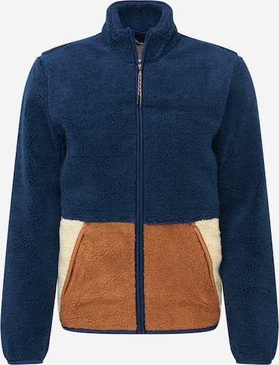 Revolution Prijelazna jakna u bež / tamno plava / smeđa: Prednji pogled