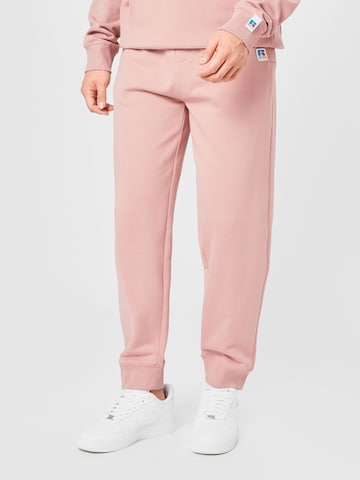 BOSS Casual Hose 'Jafa Russell Athletic' in Pink