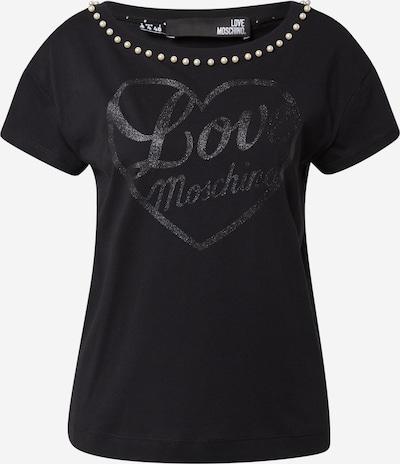 Tricou Love Moschino pe negru, Vizualizare produs