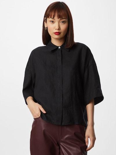 DRYKORN Bluse 'THERRY' in schwarz, Modelansicht
