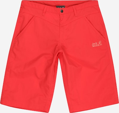JACK WOLFSKIN Shorts 'Sun' in rot, Produktansicht