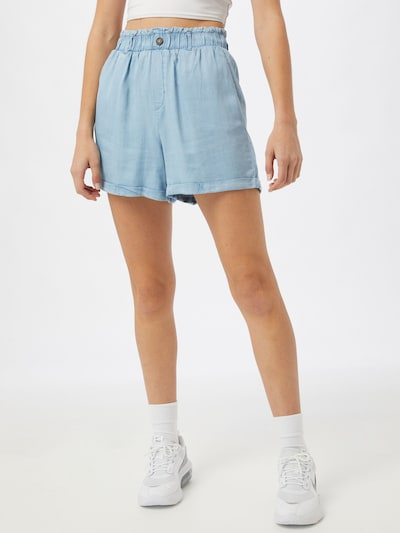Noisy may Broek 'MARIA' in de kleur Lichtblauw, Modelweergave