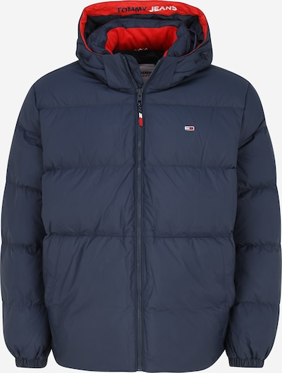 Tommy Jeans Plus Jacke 'Essential' in navy / rot, Produktansicht