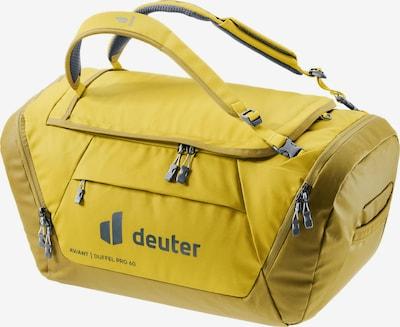 DEUTER Travel Bag 'AViANT Duffel Pro 60' in Light yellow, Item view