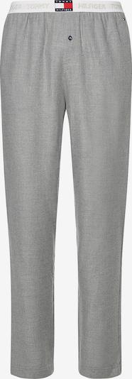 TOMMY HILFIGER Pyjamahose in marine / graumeliert / rot / weiß, Produktansicht