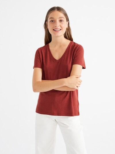 Thinking MU T-Shirt ' Clavel ' in dunkelorange, Produktansicht
