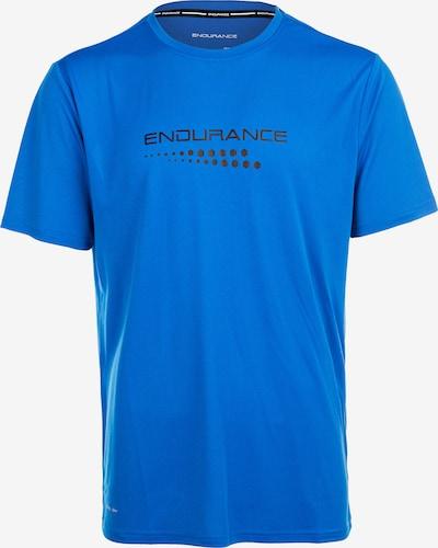 ENDURANCE Funktionsshirt 'CARBONT M S/S Tee' in blau, Produktansicht