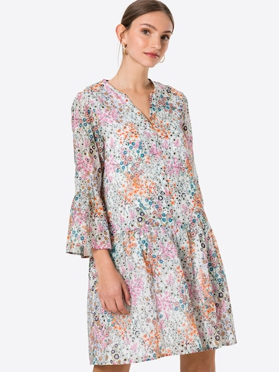 CINQUE Šaty 'CIDAKARO' - kráľovská modrá / černicová / oranžová / ružová / biela, Model/-ka