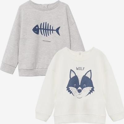 MANGO KIDS Sweatshirt 'lucap-i' in beige / graumeliert, Produktansicht