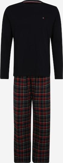 Tommy Hilfiger Underwear Pyjama long en bleu nuit / rouge, Vue avec produit