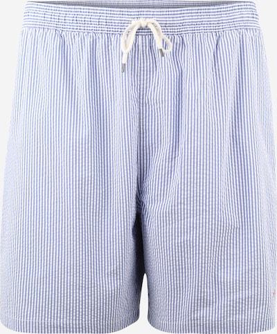 POLO RALPH LAUREN Kratke kopalne hlače 'TRAVELER' | modra / bela barva: Frontalni pogled