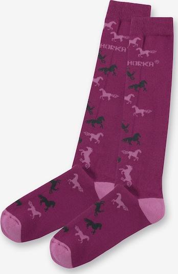 HORKA Socken in lila / pink, Produktansicht