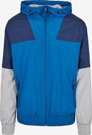 Urban Classics Big & Tall Prijelazna jakna u plava / kraljevsko plava / svijetlosiva, Pregled proizvoda
