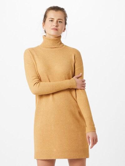 VERO MODA Kootud kleit 'BRILLIANT' helepruun, Modellivaade