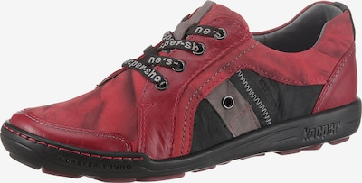KACPER Schnürschuh in rot, Produktansicht