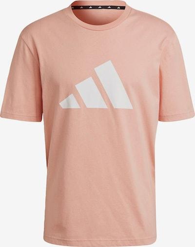 ADIDAS PERFORMANCE Sportshirt in pfirsich / weiß, Produktansicht