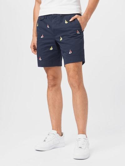 POLO RALPH LAUREN Kalhoty - noční modrá / žlutá / červená / bílá, Model/ka