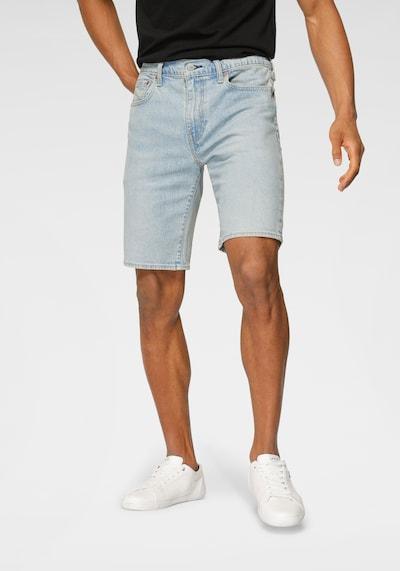 LEVI'S Shorts '405' in blue denim, Modelansicht