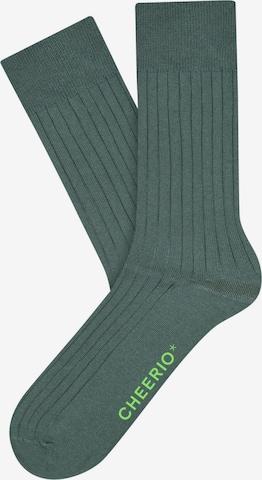 CHEERIO* Socks 'TOUGH GUY' in Green