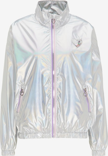 MYMO Jacke in neonlila / silber, Produktansicht