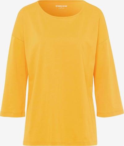 Green Cotton 3/4-Arm-Shirt Shirt in gelb, Produktansicht