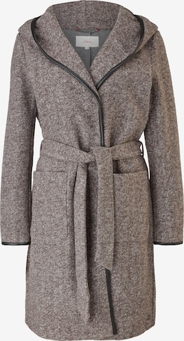 s.Oliver Between-Seasons Coat in Brown