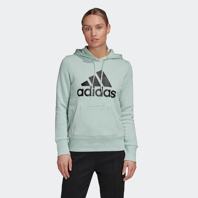 ADIDAS PERFORMANCE Sweatshirt in mint / schwarz: Frontalansicht