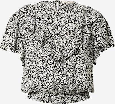 24COLOURS Bluse in gelb / schwarz / weiß, Produktansicht