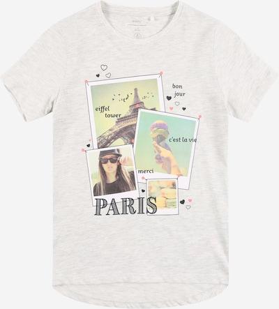 Guppy T-Shirt 'DOVE' en bleu clair / noisette / gris chiné / noir chiné / blanc, Vue avec produit