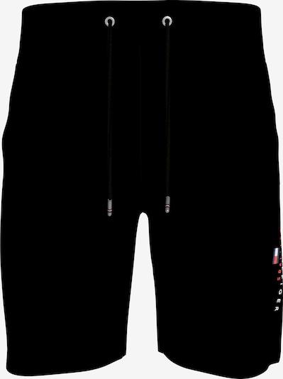 TOMMY HILFIGER Kalhoty - červená / černá / bílá, Produkt