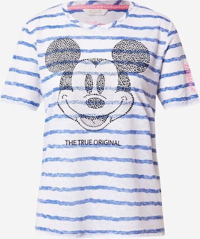 Frogbox T-Shirt 'Mickey' in mischfarben / weiß, Produktansicht