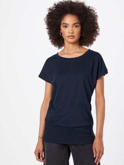 Fli Papigu Тениска 'Schnitzel' в тъмносиньо: Изглед отпред