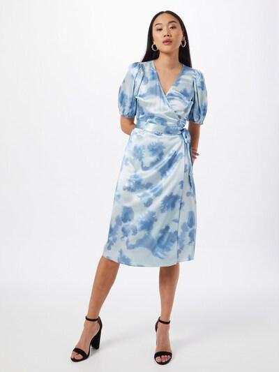JUST FEMALE Jurk 'Laguni' in de kleur Blauw / Wit, Modelweergave
