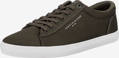 TOMMY HILFIGER Sneaker in oliv / weiß, Produktansicht