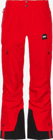 Picture Organic Clothing Outdoor Pants 'Object' in Red