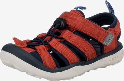 FINKID Sandale 'Pelto' in nachtblau / rostrot, Produktansicht
