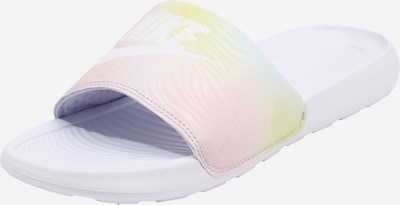 Nike Sportswear Beach & Pool Shoes 'Victori One' in Mixed colors / White, Item view