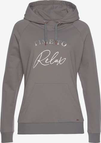 LASCANA Sweatshirt in Grey