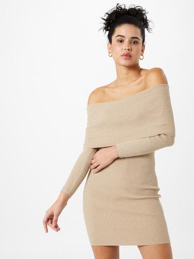 Tally Weijl Strickkleid in beige, Modelansicht