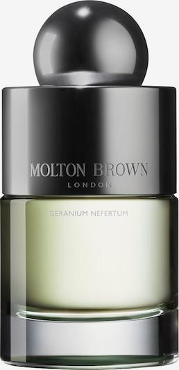 Molton Brown Eau de Toilette 'Geranium Nefertum' in graphit / oliv / transparent, Produktansicht